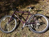 Gary Fisher Wahoo bike in very good condition rides