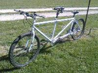 Gary Fisher Tandem Mountain Bike for sale. It's been