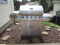 Char-Broil Gas Grill BBQ, Commercial Series, 5 Burner