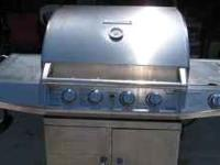 Used Brinkman Pro Series 6430 - 4 Burner Gas Grill with