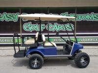A new 2006 Gas Club Car DS build is complete! This cart