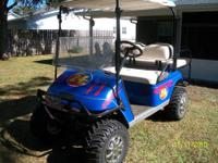'94 low houred, excellent condition, EZGO Gas Golf Cart