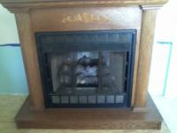 For Sale, 28000 BTU propane/Lp gas fireplace unit