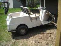I have an older three wheeled Columbia Par Car golf