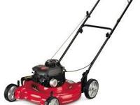Like New Slightly Used Yard Machine Lawn Mower 21 inch