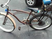 This is a gas motorized bicycle in good condition it