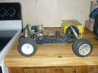 i have two gas powered remote controll cars. one runs