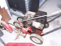 Decent Gas powered 80HP Lawn Edger. It was running