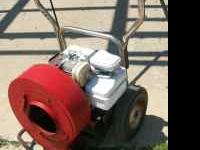 Gas Powered Air Blower B&SMoter A must for driveways &