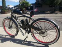 New Gas Powered 48cc Bicycle with many improvements. I