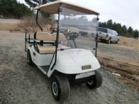 I have for sale a 2004 EZGO gas powered golf cart in