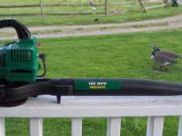 I HAVE A WEEDEATER FEATHERLITE GAS LEAF BLOWER FOR