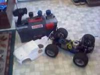 Selling my remote control gas powered truck, has a 26c