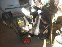 Yardworks brand snowblower. 5.5 HP OHV motor. 5 speeds