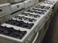 Available are gas ranges, arrays. Basic 30 inch vast.