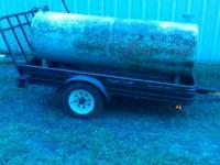 VERY NICE TANK , ITS 7 1/2 ' LONG & 2- 1/2 ' TALL