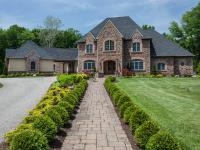 Upon arriving at the gated entrance of this estate home