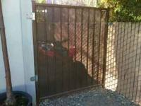 5 ft metal gate $175 9 ft metal gate $375  Location: