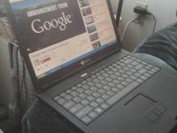"""15.1"""" Gateway Laptop 3GHz Core2Duo Intel Processsor,"""