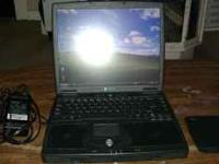 Gateway laptop 5350. Intel Pentium III, 248 mb of ram,