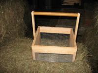 Gathering/washing Basket. Model #1313.This basket is