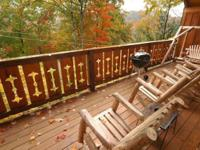 Luxury Cabin located between Gatlinburg and Pigeon