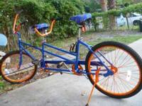 Gator Fans only, Beautiful Bicycle built for Two, Rides