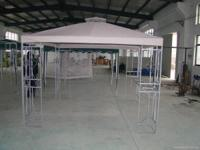 I have a out side metal gazebo for sale bearly used I
