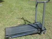 Gazelle and manual treadmill, $55 for both or $35 for