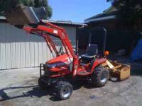 4WD, W/Loader and Box scrapper. Original Owner, must