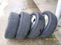 HIGH TREAD GOODYEAR VIVA 2 PRICE INCLUDES MOUNT,