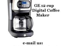 Enjoy gourmet coffee at home. The General Electric