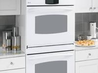 "GE JRP20WJWW 24"" Single Electric Wall Oven with 2.7 cu."