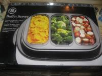 FOR SALE  GE BUFFET SERVER NEVER USED IN GOOD