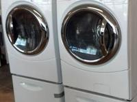 GE FRONT LOAD WASHER AND DRYER- $2300 ****ON SALE NOW