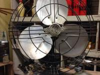 For sale is a vintage GE Fan in magnum opus problem.