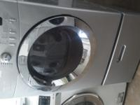$300 GE FRONT LOAD COMPACT 24 WIDE STACKABLE WASHER