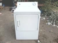 GE Heavy Duty Electric Clothes Dryer Includes Extra