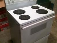 "GE Hotpoint 30"" Free-Standing Electric Range (model"