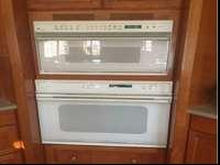 GE Monogram convection/microwave oven. Excellent