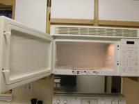 I have a white GE wall mount microwave oven for sale.