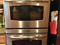 "GE Profile 30"" Double Wall Oven with top convection"
