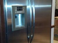 "GE Profile 48"" Refrigerator for sale, bought brand new"
