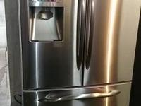 LOVELY tidy Like New GE Profile Stainless Steel French