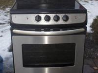 "I have for sale a 24"" Free standing Electric Range. The"