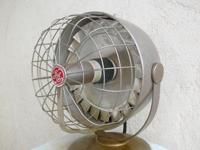 Here is a 1950s futuristic HEATER including a spinning