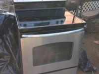 GE Stainless Steel Oven and Dishwasher. They can be