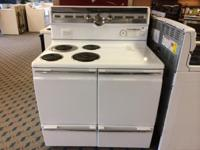 "GE Vintage 42"" Freestanding Electric Range Stove Oven -"