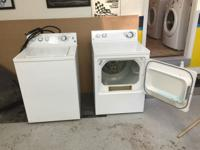 Like new GE gas LP set up dryer Washing machine has 5
