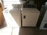 GE Washer and Electric Dryer - $250.00 for the pair -